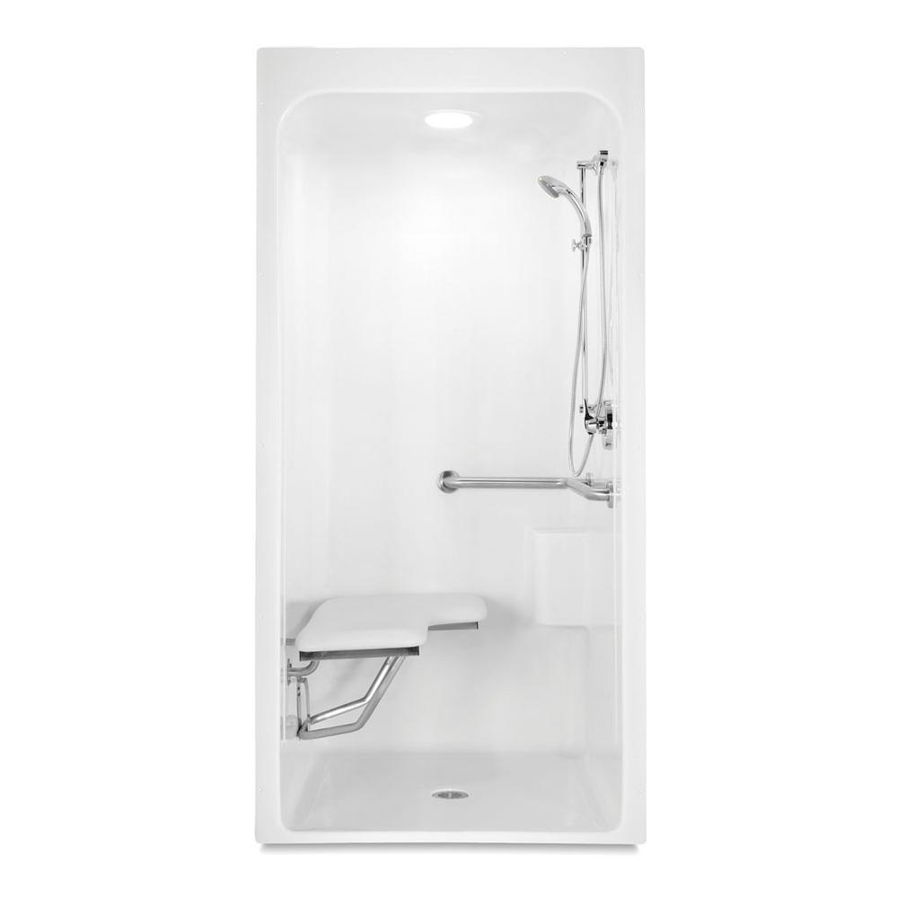 Aquatic Bathroom Shower Enclosures Accessible | Vic Bond Sales ...
