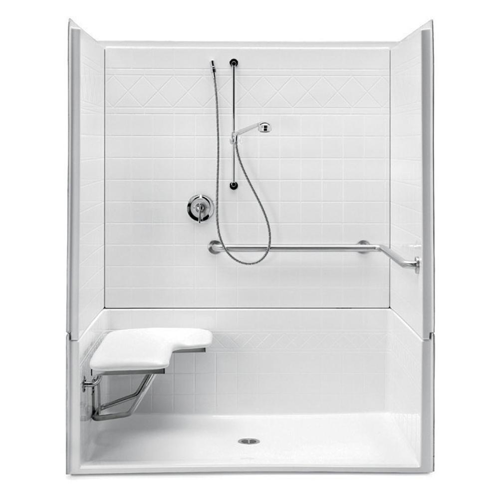 Aquatic Showers Shower Enclosures White | Vic Bond Sales - Flint ...