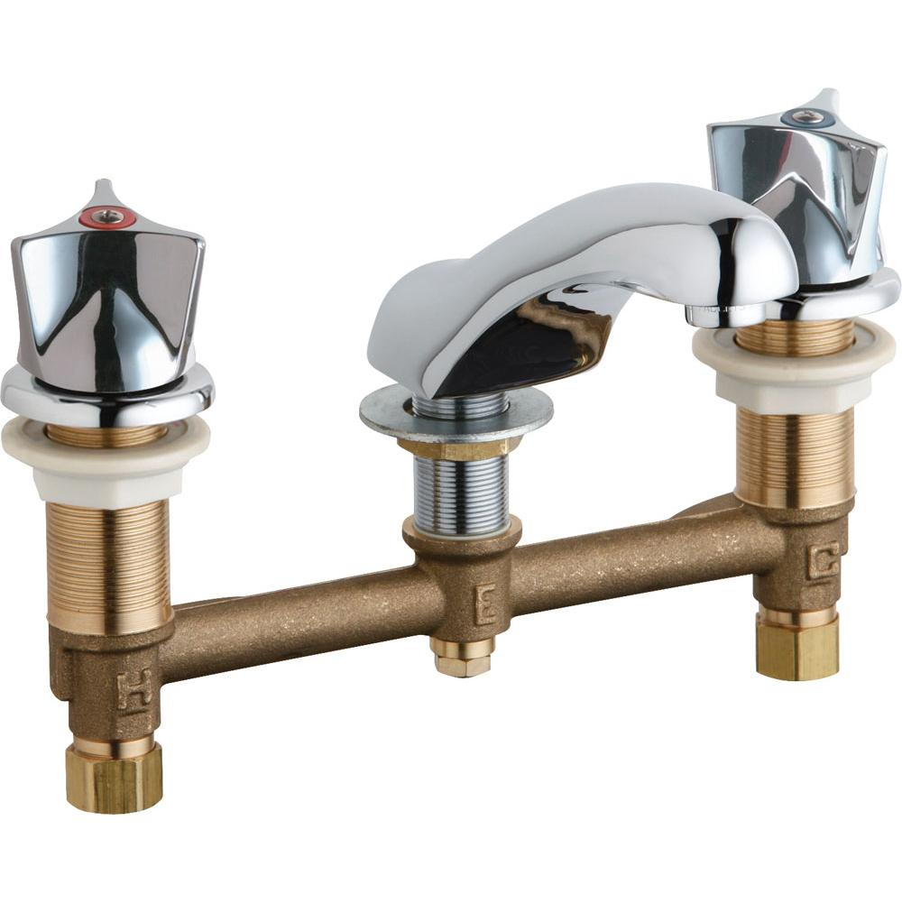 Chicago Faucets Faucets Bathroom Sink Faucets Widespread | Vic Bond ...