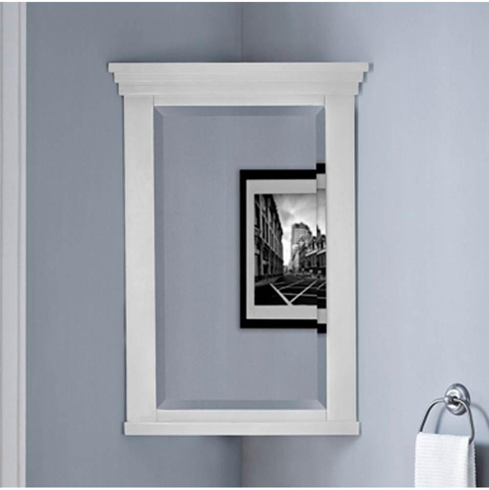 Cabinets Mirrors White Vic Bond S