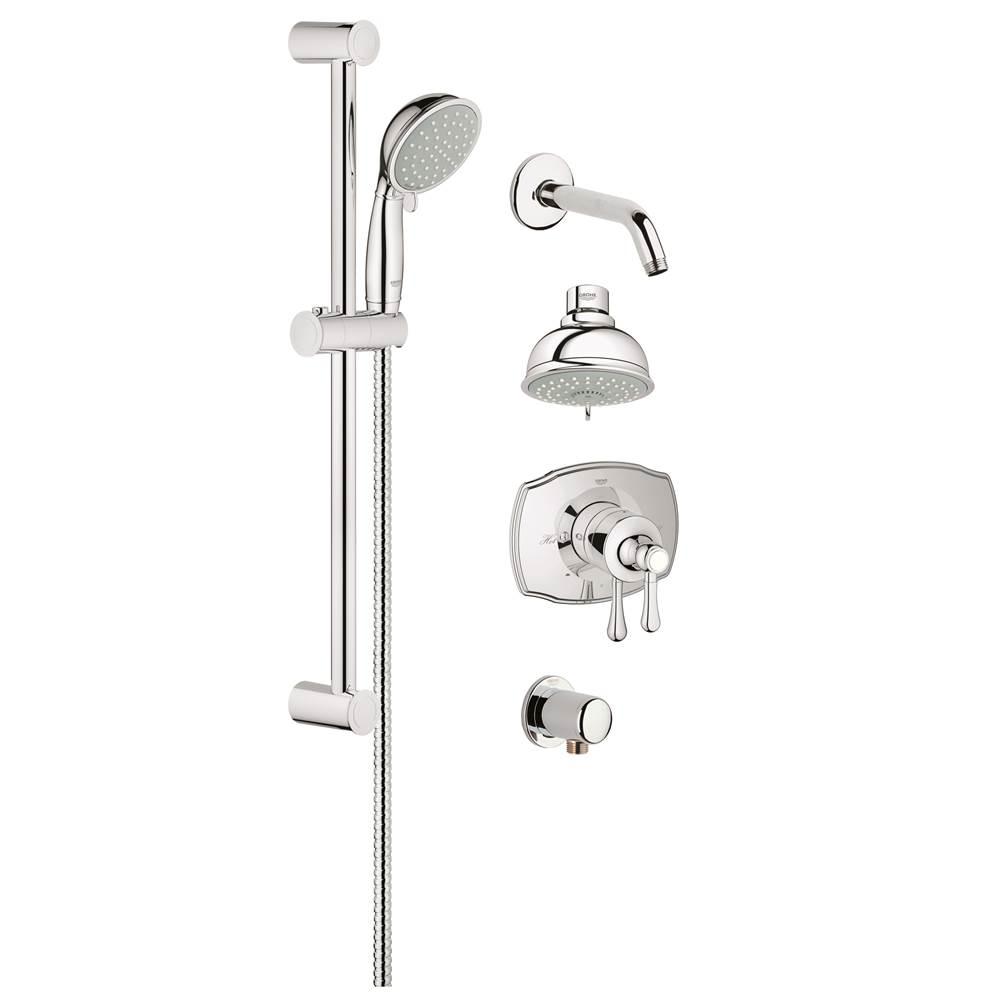 Grohe Shower Systems Chromes Starlight Chrome   Vic Bond Sales ...