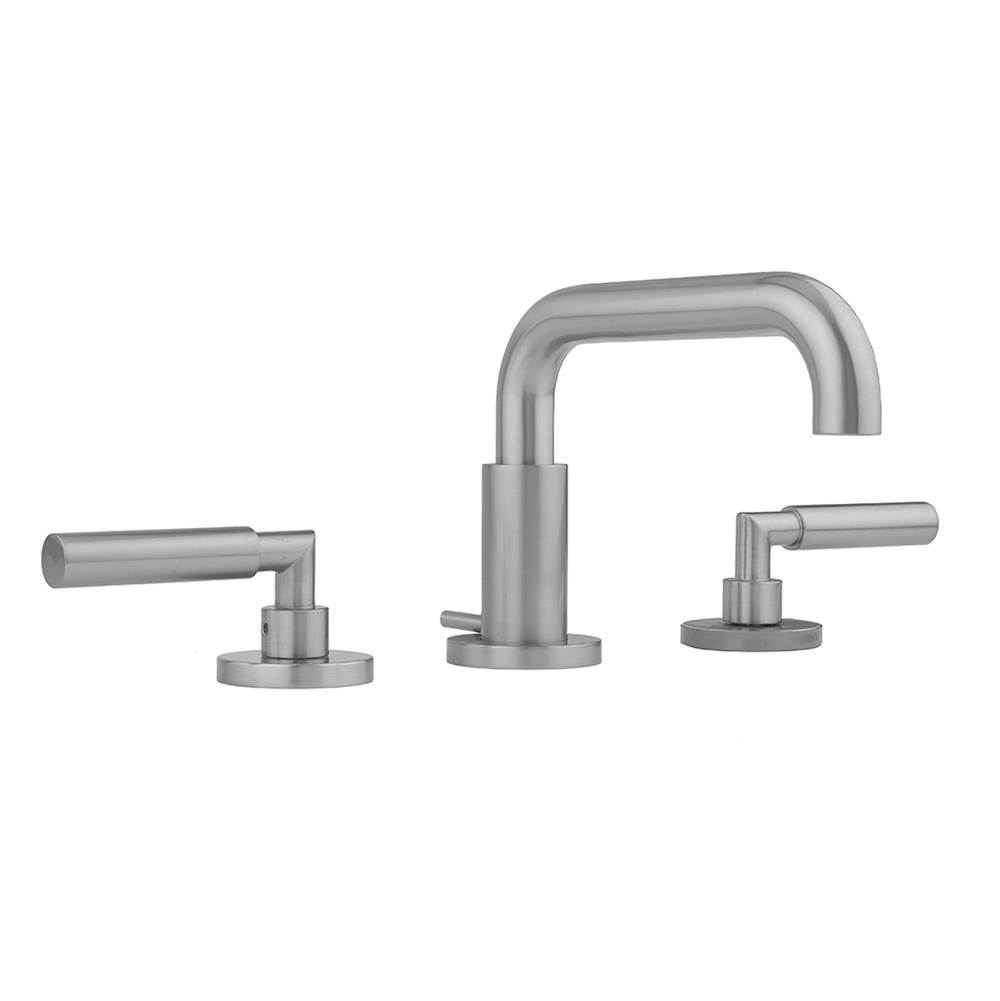 Polished Brass Jaclo H60-FM-PB Smooth Front-Mount Shower Door Handle with End Caps