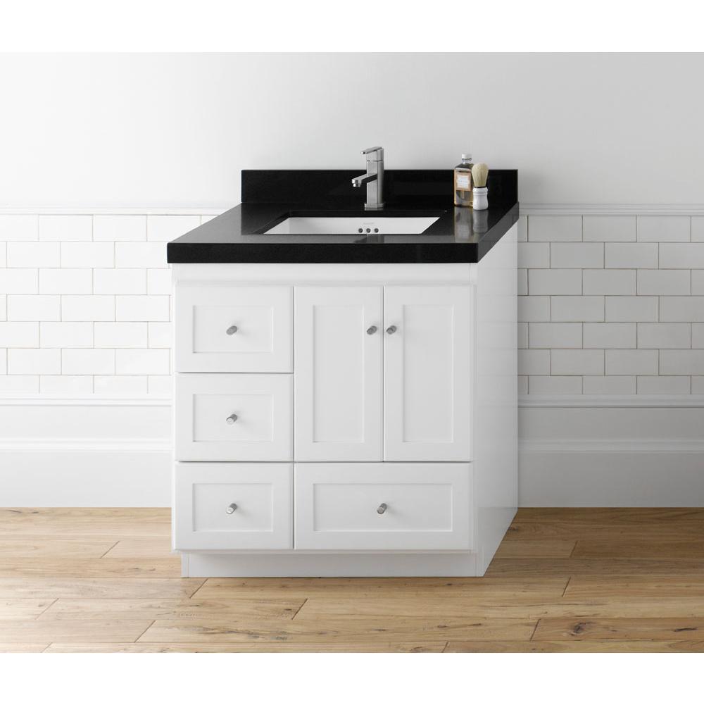119900 081930 3R W01 Ronbow 30 Shaker Bathroom Vanity Cabinet