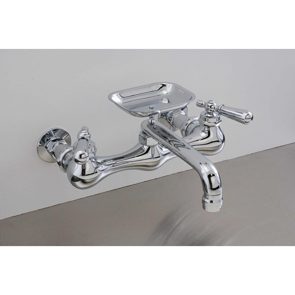 Faucets Kitchen Faucets Wall Mount Nickel Tones Vic Bond Sales