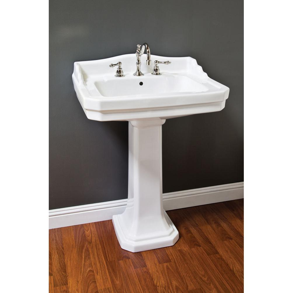 Sinks Pedestal Bathroom No Finish