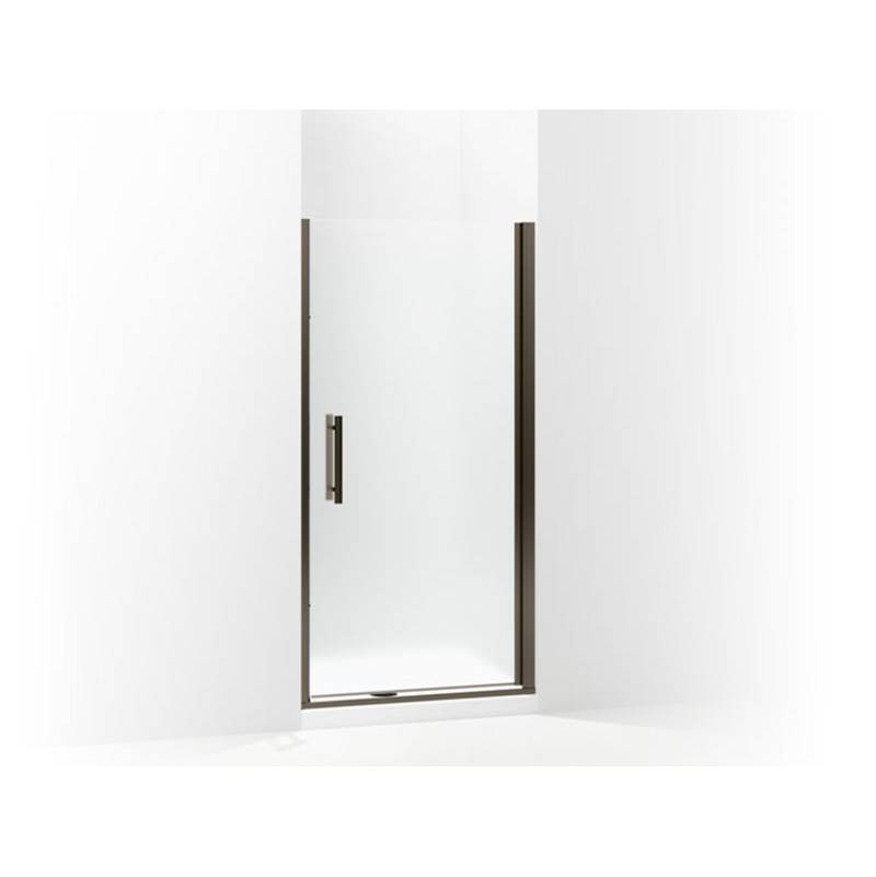 Jaclo H42-FM-32-PB Cubix Front-Mount Shower Door Handles Polished Brass