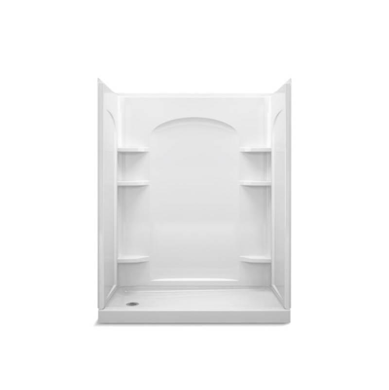 Sterling Plumbing Bathroom Showers Shower Enclosures White | Vic ...