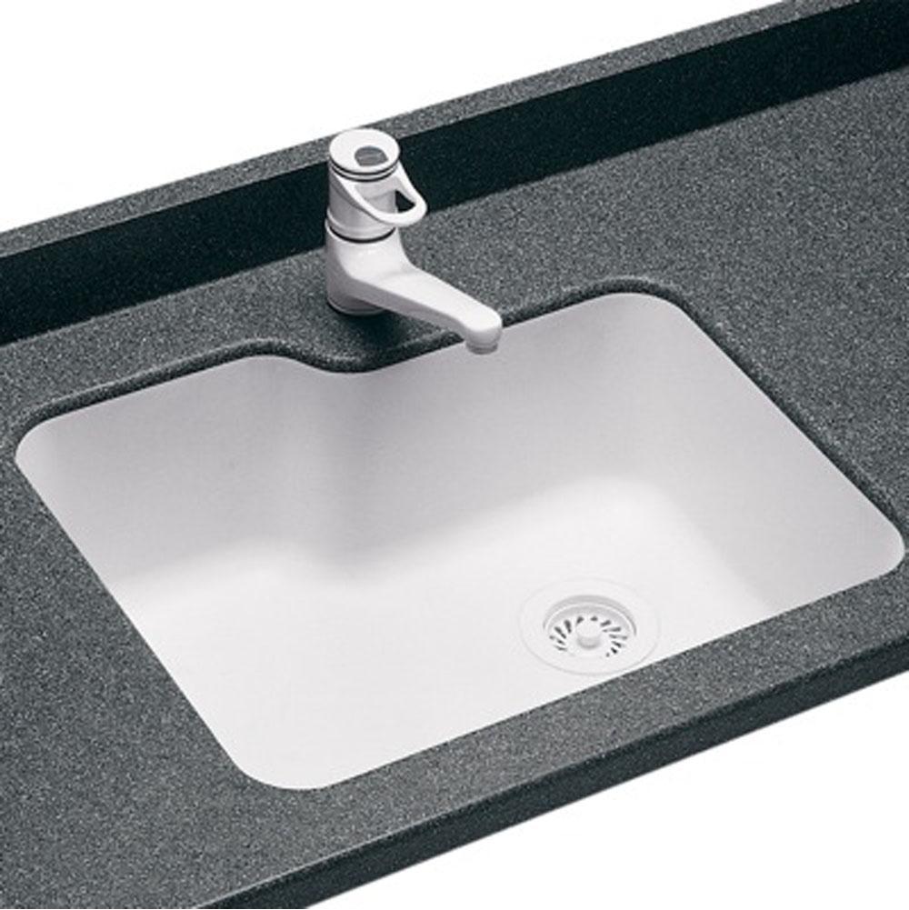 Sinks Kitchen Sinks Undermount White | Vic Bond Sales - Flint-Howell ...